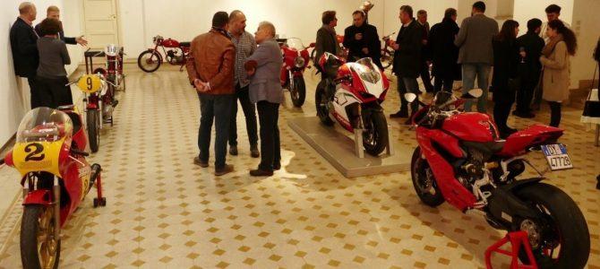 Colecția Ducati Bande Rosse în vizită la Academia Română din Roma