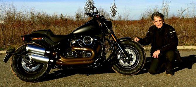 Harley-Davidson Fat Bob 107 – test și prezentare video
