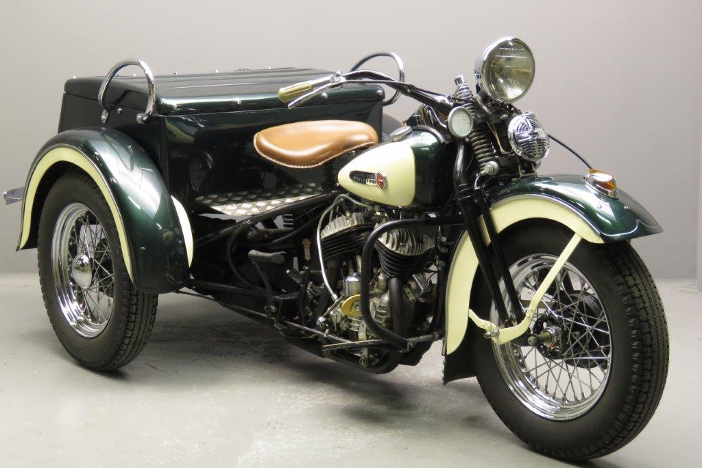 service car Harley-Davidson 1947