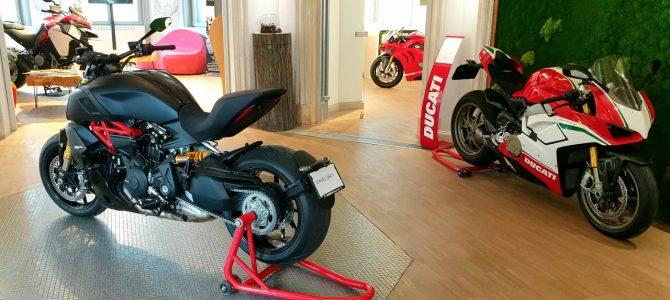 Am fost la evenimentul Ducati găzduit de Qreator