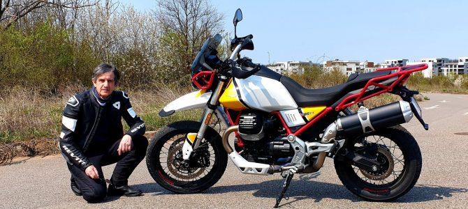 Moto Guzzi V85 TT – test și prezentare video