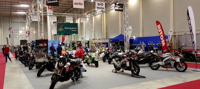 Moto Guzzi, Aprilia, Vespa și Piaggio, toate mărcile reprezentate de firma The Bike Hub la SMAEB 2019