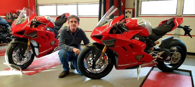 Ducati Panigale V4 R – pregătire de livrare (Unboxing)