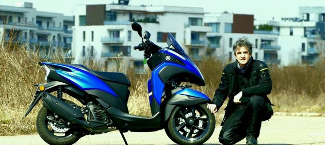Yamaha Tricity 155 – test și prezentare video