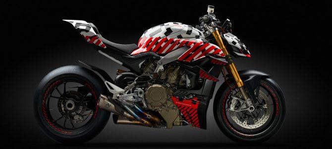 Prototipul modelului Ducati Streetfighter V4 prezentat la cursa de viteză în coastă Pikes Peak