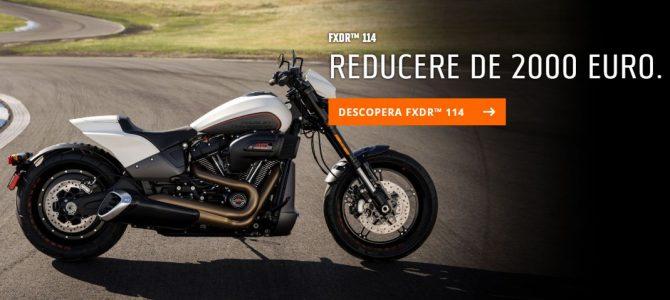Oferta de vară la Harley-Davidson – până la 2000 euro discount la modele 2019
