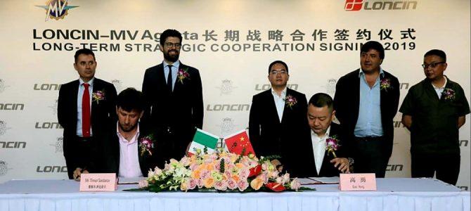 MV Agusta și Loncin au semnat un parteneriat pe termen lung