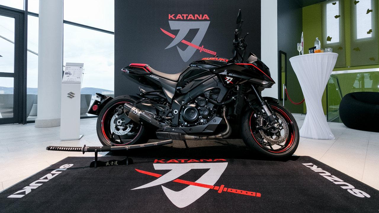 Suzuki Katana - pregătire de livrare
