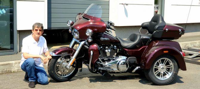 Harley-Davidson Tri Glide Ultra – pregătire de livrare (Unboxing)