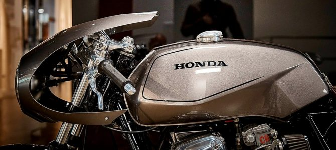 """The Misfit, cea mai frumoasă """"nepotrivire"""" realizată dintr-o Honda CB750"""