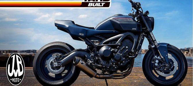 CP3, Yamaha XSR900 în viziunea firmei JvB-Moto