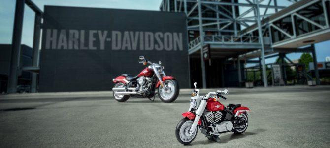 LEGO a produs un model Harley-Davidson Fat Boy
