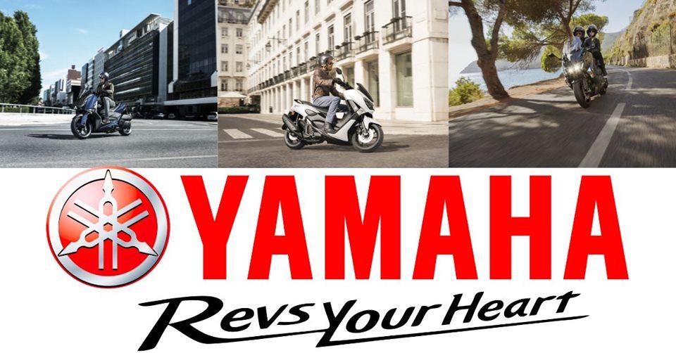 Scuterele Yamaha