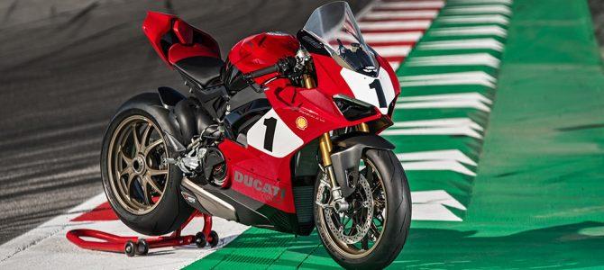 Ducati a prezentat modelul Panigale V4 25 Anniversario 916