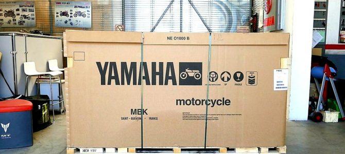 Yamaha Ténéré 700 – pregătire de livrare (Unboxing)