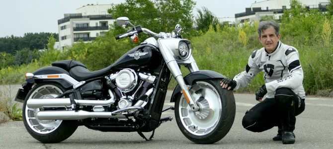 Harley-Davidson Fat Boy – test şi prezentare video