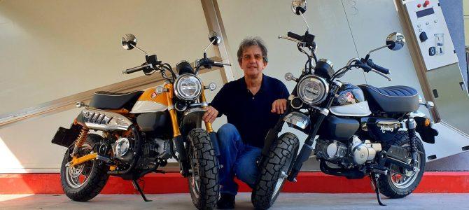 Honda Monkey a sosit la magazinul Motor Team din București