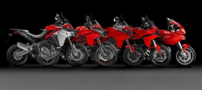 Modelul Ducati Multistrada a ajuns la 100.000 unități văndute