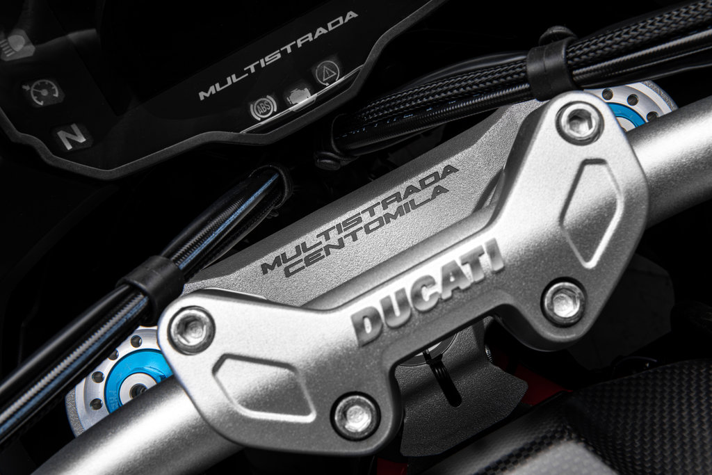 Ducati Multistrada 100.000