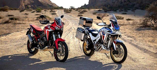 Honda a lansat noile modele Africa Twin CRF1100L