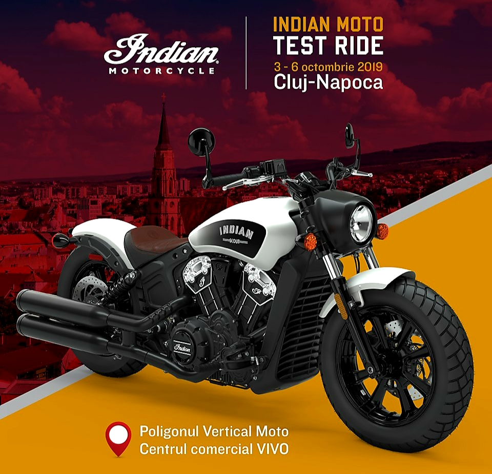 Motocicletele Indian la Cluj