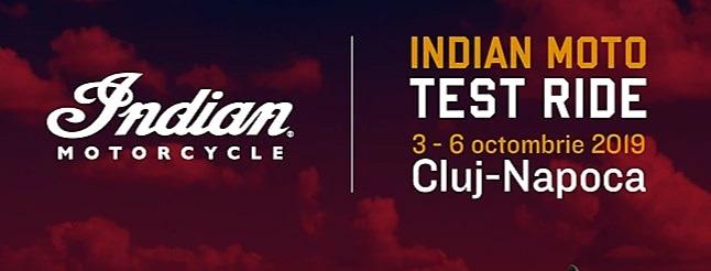 Motocicletele Indian vor putea fi testate la Cluj