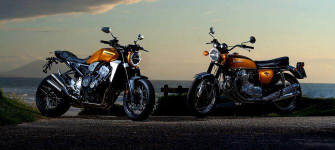 Honda Motor Europe sărbătorește 50 de ani de la lansarea modelului CB 750 la Glemseck 101