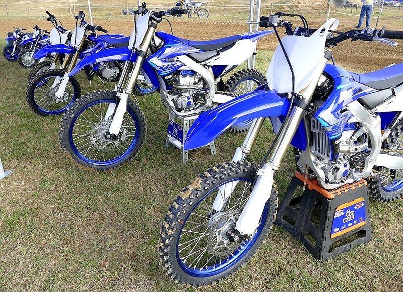 motocros Yamaha 2020