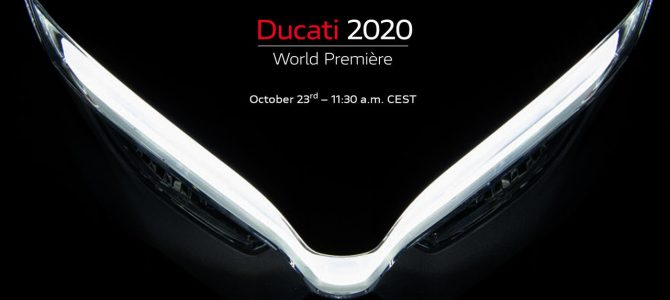 Ducati World Première 2020: numărătoarea inversă a început