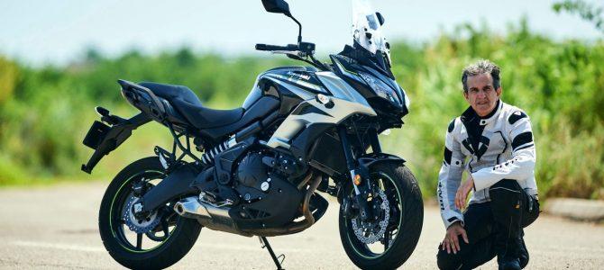 Kawasaki Versys 650 – test si prezentare