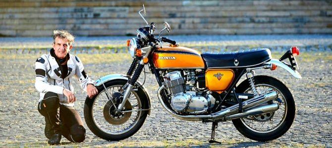Honda CB 750 Four – test și prezentare – varianta video