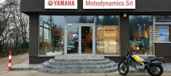 Magazinul din București al importatorului Yamaha a fost modernizat
