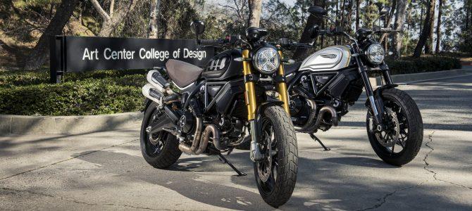 Ducati Scrambler 1100 PRO si Sport PRO studiate la ArtCenter College of Design din Pasadena