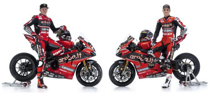 Echipa Aruba.it Racing – Ducati a prezentat motocicletele pentru sezonul WSBK 2020