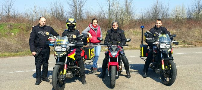 Motocicliștii la datorie – SMURD la antrenament
