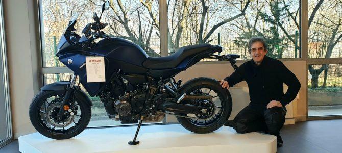 Noul model Yamaha Tracer 700 a ajuns la magazinul din Bucureşti al importatorului