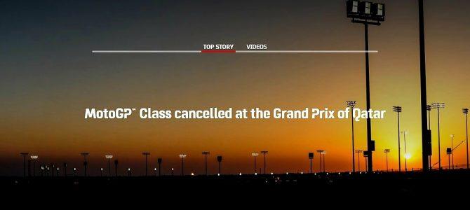 Clasa MotoGP nu va participa la prima etapă din Qatar