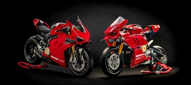 Cel mai frumos cadou pentru orice Ducatist, Panigale V4 R din piese LEGO