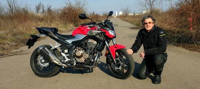 Honda CB500F – test şi prezentare – varianta video
