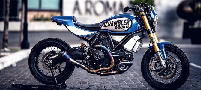 Un Scrambler 1100 modificat de Marco Graziani a câștigat concursul Custom Rumble