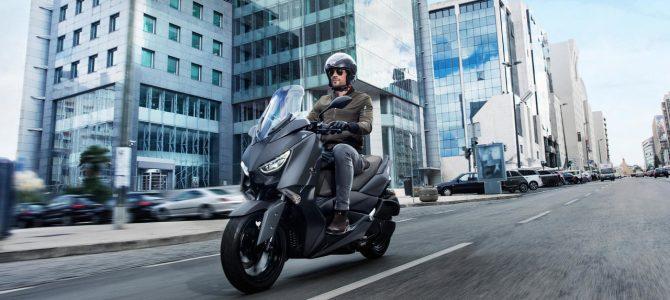 Motorul Blue Core și scuterele sportive Yamaha XMAX