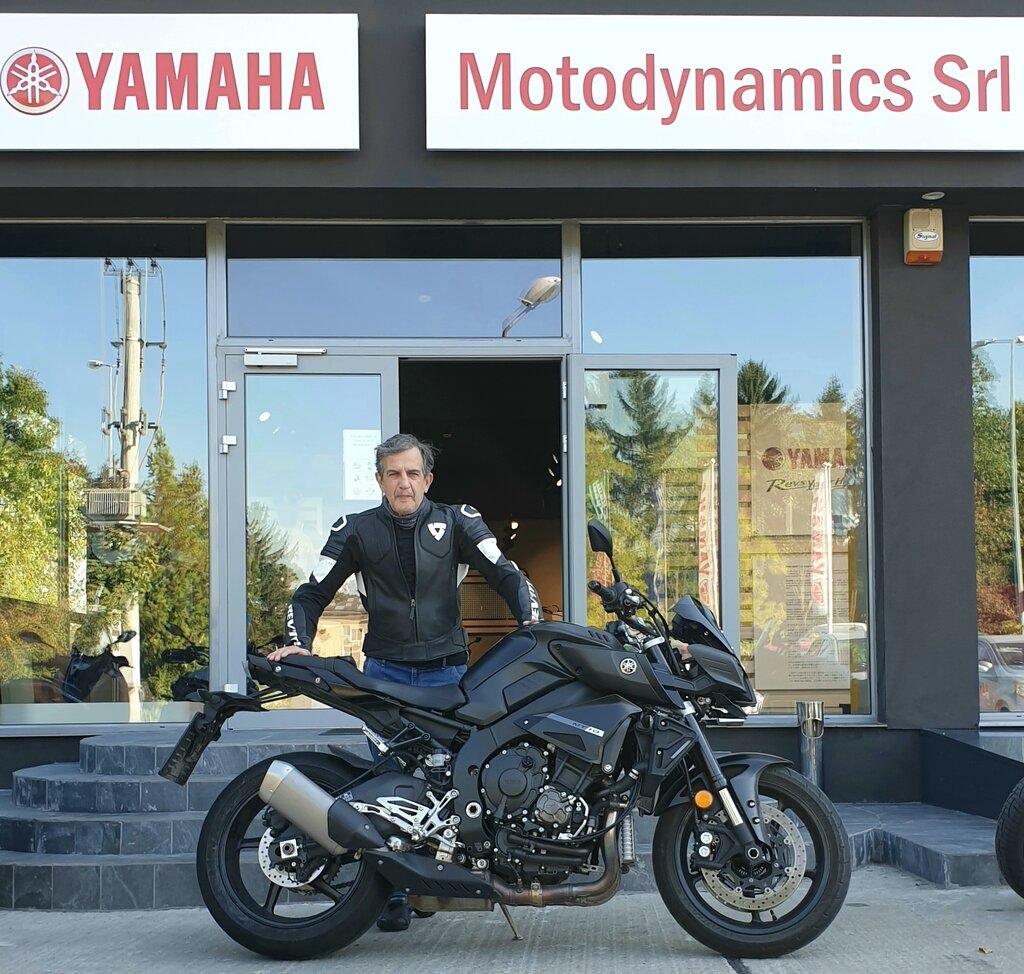 Flota de test Yamaha