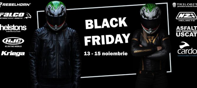 Black Friday și Asfalt Uscat