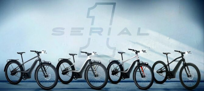 Serial 1 Cycles a prezentat o gama de biciclete cu motor electric produs de Harley-Davidson