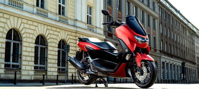 Scuterul Yamaha NMAX 125 a fost radical modificat pentru sezonul 2021