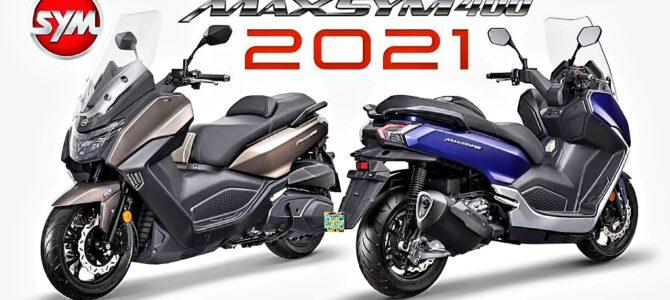 Noul model SYM Maxsym 400 pregătit pentru sezonul 2021