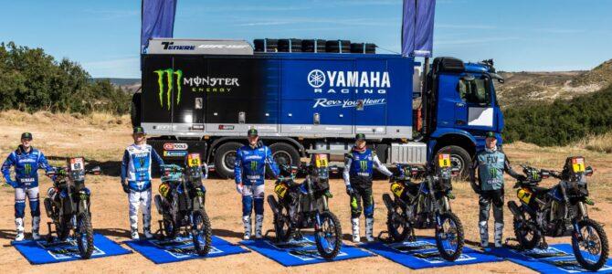 Monster Energy Yamaha Rally Team prezentă la Raliul Dakar 2021