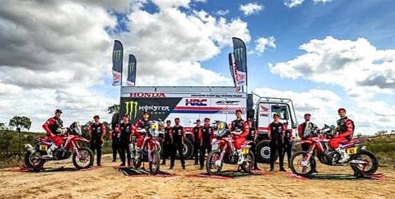Echipa Monster Energy Honda la Dakar 2021
