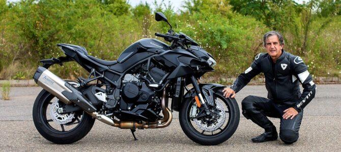 Kawasaki Z H2 – naked cu supraalimentare – de ce nu ?