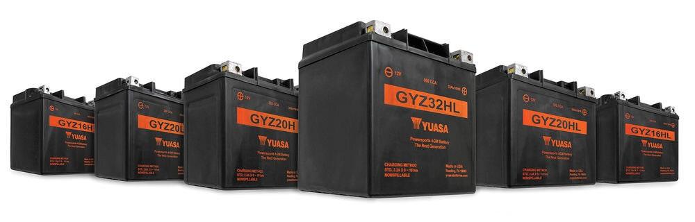 Baterii pentru motociclete